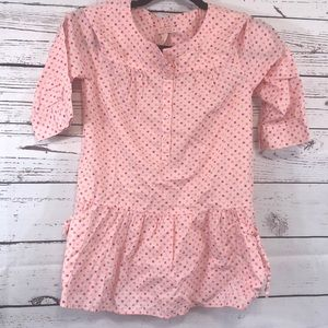 Old Navy Girls Pink Quarter Sleeve Top